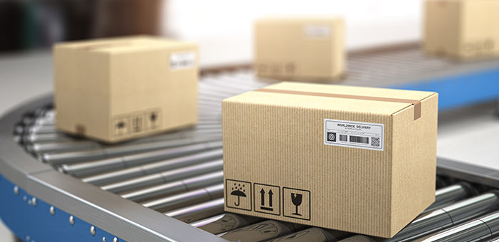 Finished Goods Package Labeling System